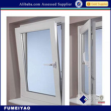 Aluminium tilt and turn window with security screen