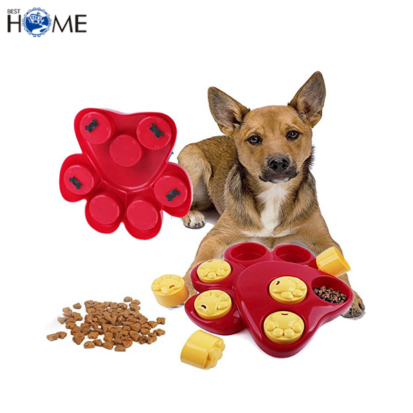 Interactive Food Treat Game Dog Slow Feeder Pet Intelligent Finder Toy