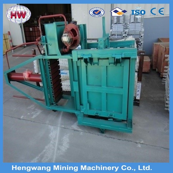 hydraulic vertical small baler machine for waste paper ,plastic,film, factory direct sell