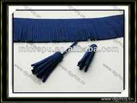 Trendy design micro fiber leather for fringe trim /garment/shoes/bag accessories