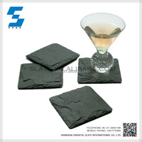 Eco-friendly feature popular slate coaster