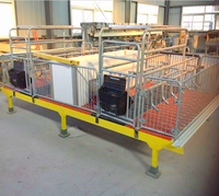 Hot selling high quality fiber glass pig cages,farrowing crate,pig farm house