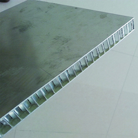 Aluminum honeycomb panel for partition walls outdoor, folding partition