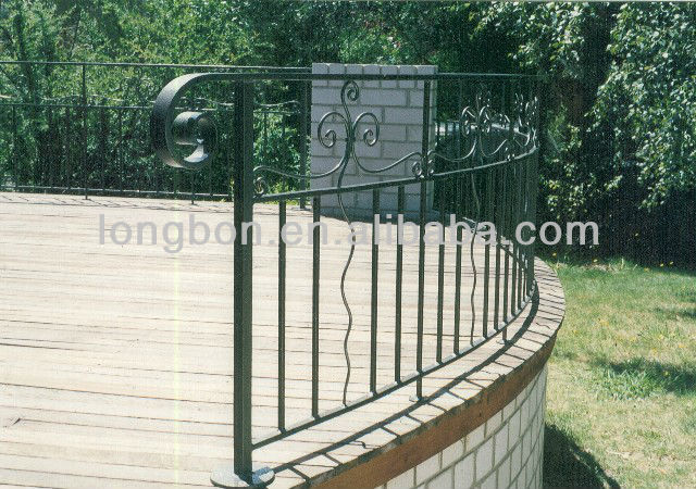 Top-selling newest wrought iron fencing supplies