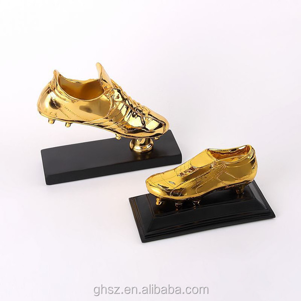 best selling Golden Boot resin fantasy buy trophies