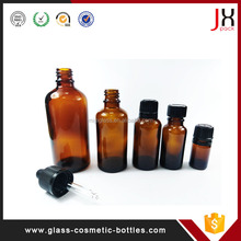 Wholesale 10ml 15ml 20ml 30ml 50ml Empty Clear/Amber/Cobalt Blue/Green Glass Cosmetic Essential oil Dropper Bottles
