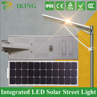 High Power Solar Street Light All In One 12V DC Wall Mounted LED Panel Light Wall Mounted 70W Brightness LED Panel Light