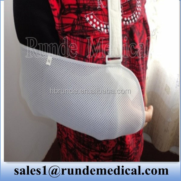 mesh fabric elbow sling support(factory)