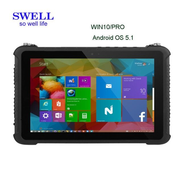 2017 best seller rugged tablet pc rs232 rj45 rugged tablet mil-std-810g military rugged pc