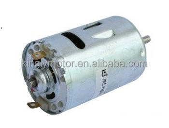High torque dc motor for cordless power tools electric dc for Battery powered dc motor