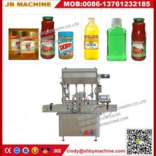 Ketchup tomato sauce filling machine for packing capping spouted pouch doypack with screw cap