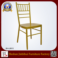 Factory Price Aluminium/Steel Modern wedding chair Chiavari Chair