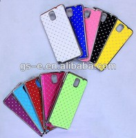 Luxury Bling Diamond Crystal PC Leather Case for Samsung Galaxy Note 3 III N9000 Case