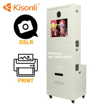 Photo Booth Multi Media System Photo Booth Vending Machine/Photo Kiosk Booth For Photography Business
