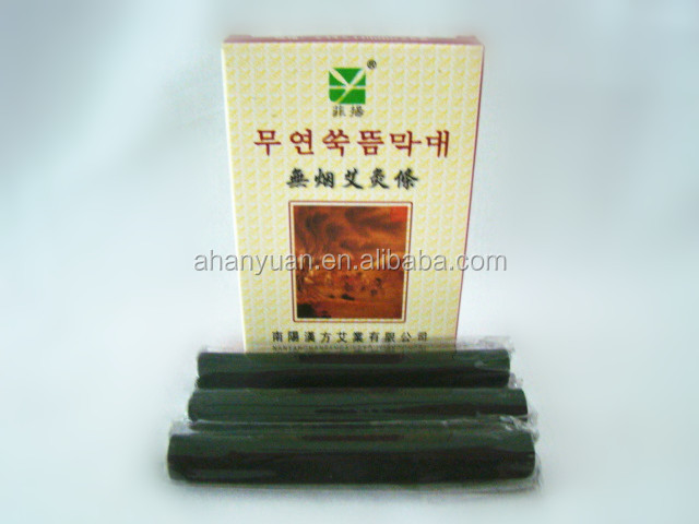 GMP korean fumeless Moxibustion bar,chinese traditional moxa stick