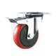 Galvanized 3 4 5 6 8 Inch Brake Industrial Trolley PU Caster Wheels
