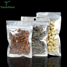 Ldpe poly black water pouch hanging small silicone ziplock plastic bags for spices or pill