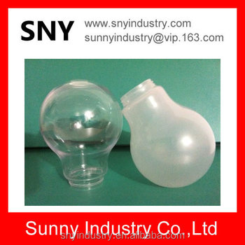 plastic lamp shell