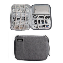 Universal Cable Organizer Electronics Accessories Case Travel Portable Carry on Bag for Various USB Phone Computer iPad Charger