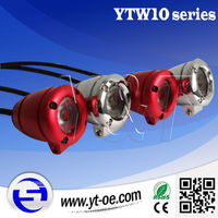 Free replacement! 300m Range More visible More brighter 10W auxiliary LED light kit with 2pcs lights, wire harness and switch
