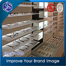 Durable wall mounted sunglass display rack,optical shop display equipment