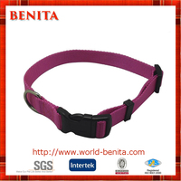 Custom Design Nylon Plain Dog Collar Manufacturer