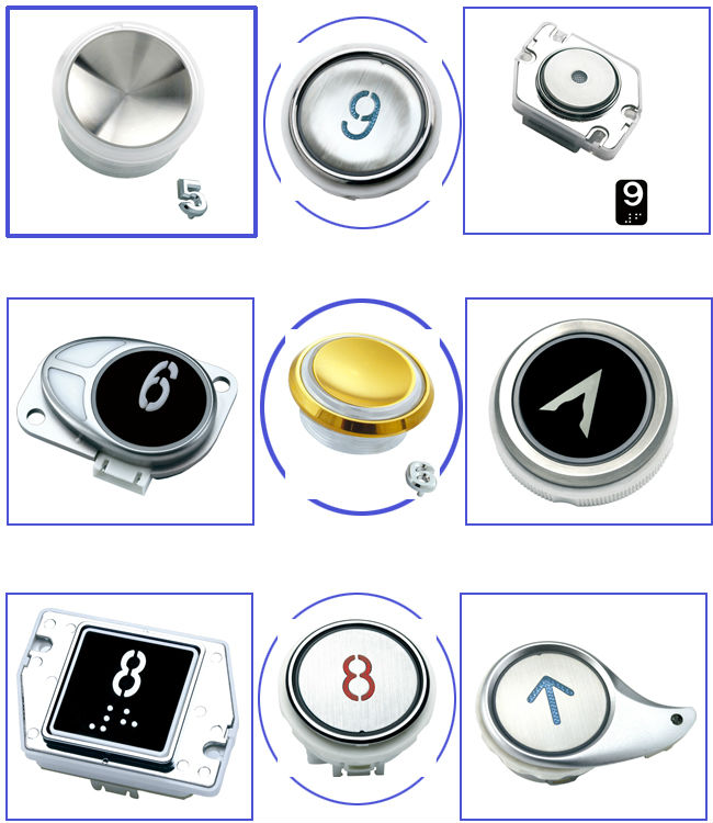 EB Series Kone elevator hall button