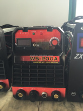 high frequency 200 amps dc tig stick welding machine with torch helmet accessories