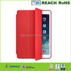 2015 hot selling for leather case rotation stand for ipad mini