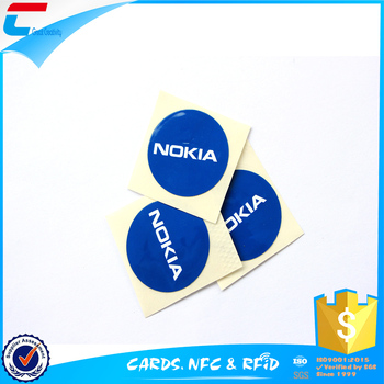 ISO 14443A Card Size RFID Tags RFID Card sticker