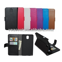 Book Leather Case Cover Pouch for Samsung Galaxy Note 3 III N9000