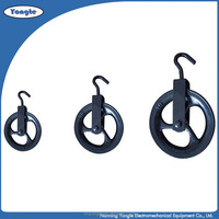 All Size Pulley Black Block/Wire Rope Pulley Blocks