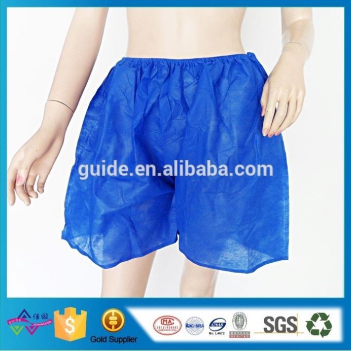 Non Woven Boxer Brief Underwear High Quality Men'S Disposable Underwear Safe And Sterile Boxer Brief Underwear