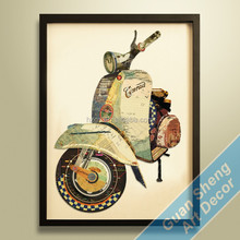 Guansheng CE005 Modern abstract portrait for home decoration