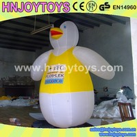 giant Inflatable penguin model for event/ inflatable penguin mascot model advertising