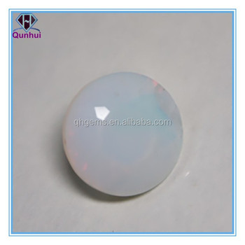 Round Shaped any color Glass Gemstone