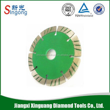Diamond Blade Material and Color paint Finishing diamond saw blade for granite