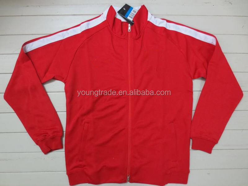 Wholesale top thai quality cheap red football Chinese jacket