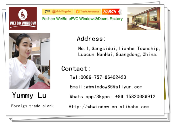 Factory Direct Selling Aluminum/upvc Profile openning Windows For Home Using