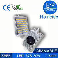 2015 newest High lumen 30w 118mm r7s led light , r7s led bulb smd dimmable 118mm led r7s 20w