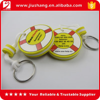 Factory supply custom EVA floating keychain for wholesale, high quality keychain with logo