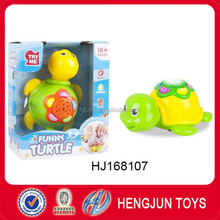 electric music story projection machine turtle toy for baby gifts