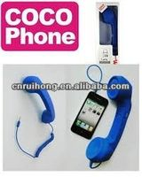 2014 hotsale coco phone bluetooth handset for blackberry