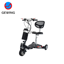Ce Approved Three Wheel Electric Scooter Mobility Tricycle For Disable People With Seat