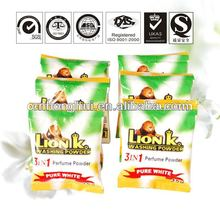 LionK formular detergent powder product line daily household chemicals