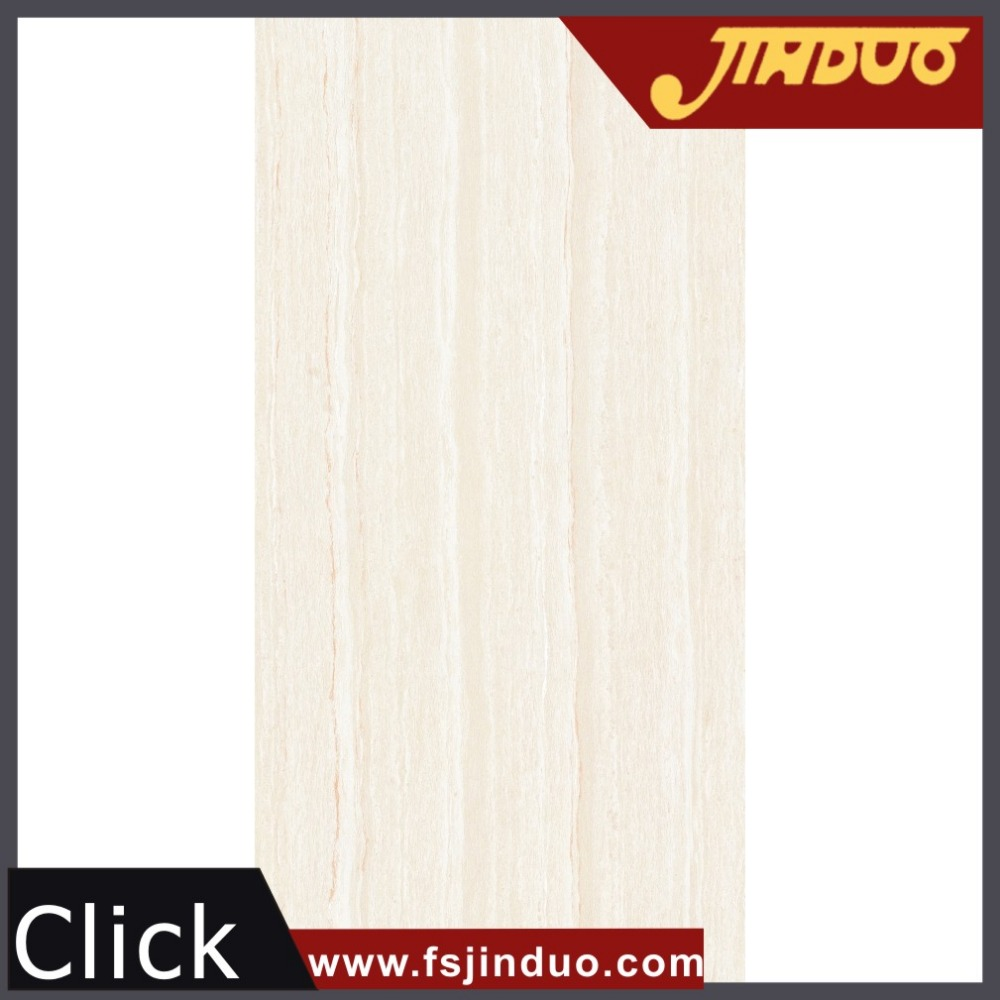 Foshan top 10 factory jinduo ceramic high gloss line stone polished 600x1200 floor tiles