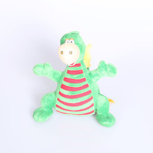 green embrace dinosaur plush toy