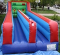 Inflatable bungee jumping/inflatable bungee run