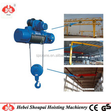 Wire rope pulling electric winch/electric rolling machines/cable pulling machine made in China