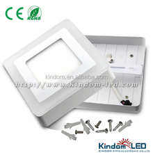 milticolor 18 watt surface mounted SMD LED panel light square